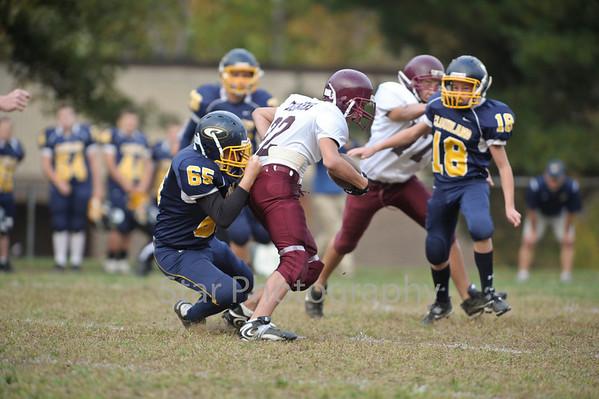 Cloudland vs Johnson Co Middle 10-12-2010