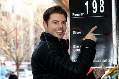 NEW YORK, NY - FEBRUARY 24:  The launch of the Ewing Energies Flagship Gas Station on February 24, 2014 in New York City.