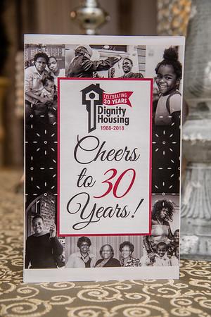 Dignity Housing 30th Anniversary gala