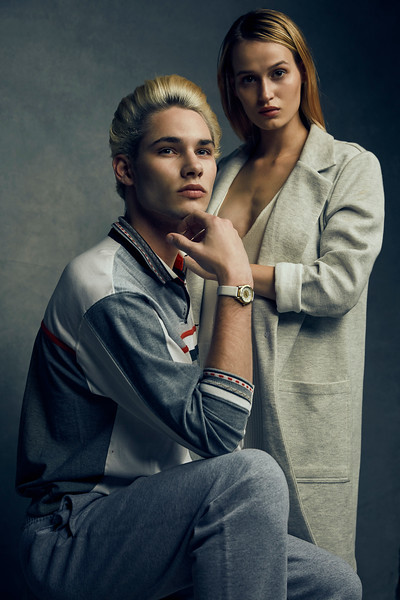 Justin Sinkler and Katya Estes