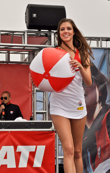 Ducati Fashion Show Laguna Seca 2012