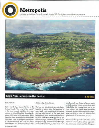 Rapa Nui: Paradise in the Pacific
