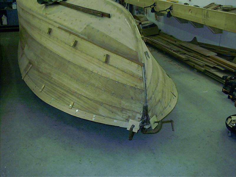 Last front port plank fit.