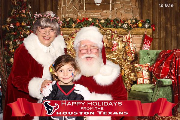 Texas vs. Broncos Happy Holidays - Photos