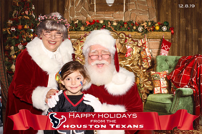 December 08, 2019 - Houston Texans Happy Holidays