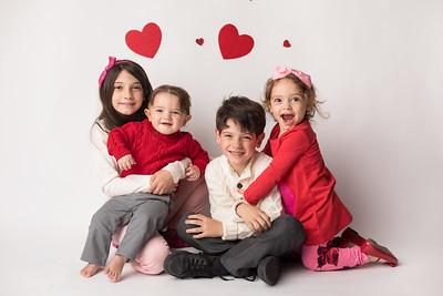 Aveline, Dante, Mirabel, and Enzo's Valentine Mini