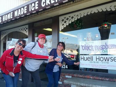 2013 0120 p.o.l. Huellventure Fosselman's Ice Cream