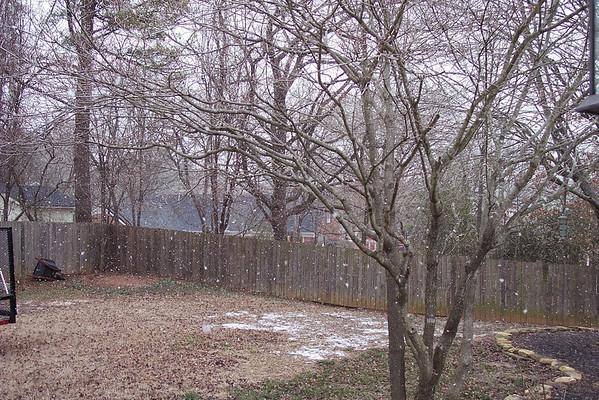 Jackson TN Mar 2008 - Snow Day