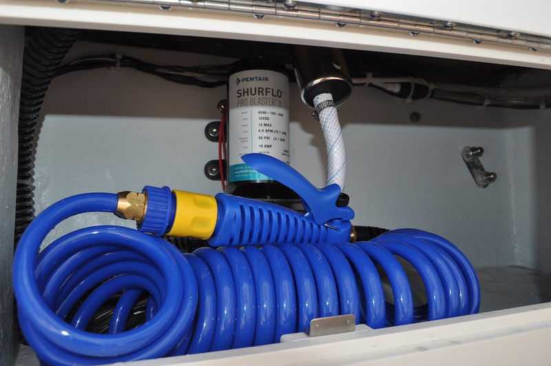 S247360-Raw Water Washdown w/25ft hose & Spray Nozzle