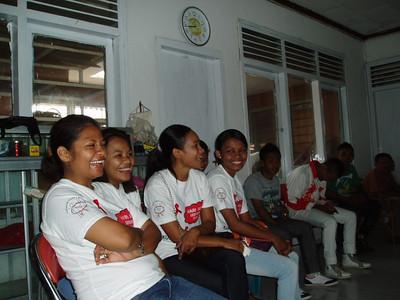 Tanpa Batas 2012 Wereld Aids Dag, het echte vrijwilligerswerk.
