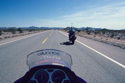 Motor Tour Western USA, September 1991.