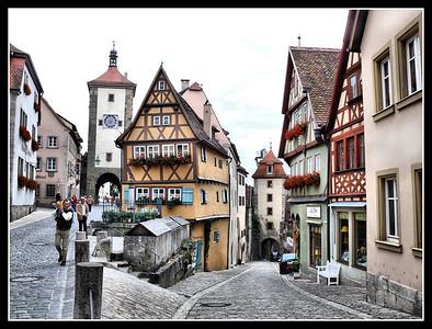 Rothenburg ob der Tauber - part 1 (2007)