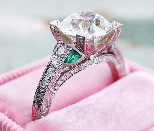 """The """"Norrsken"""" Solitaire - Featuring a 2.19ct Old European Cut Diamond"""