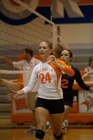 2011 Valhalla Ladies Varsity Volleyball vs Grossmont