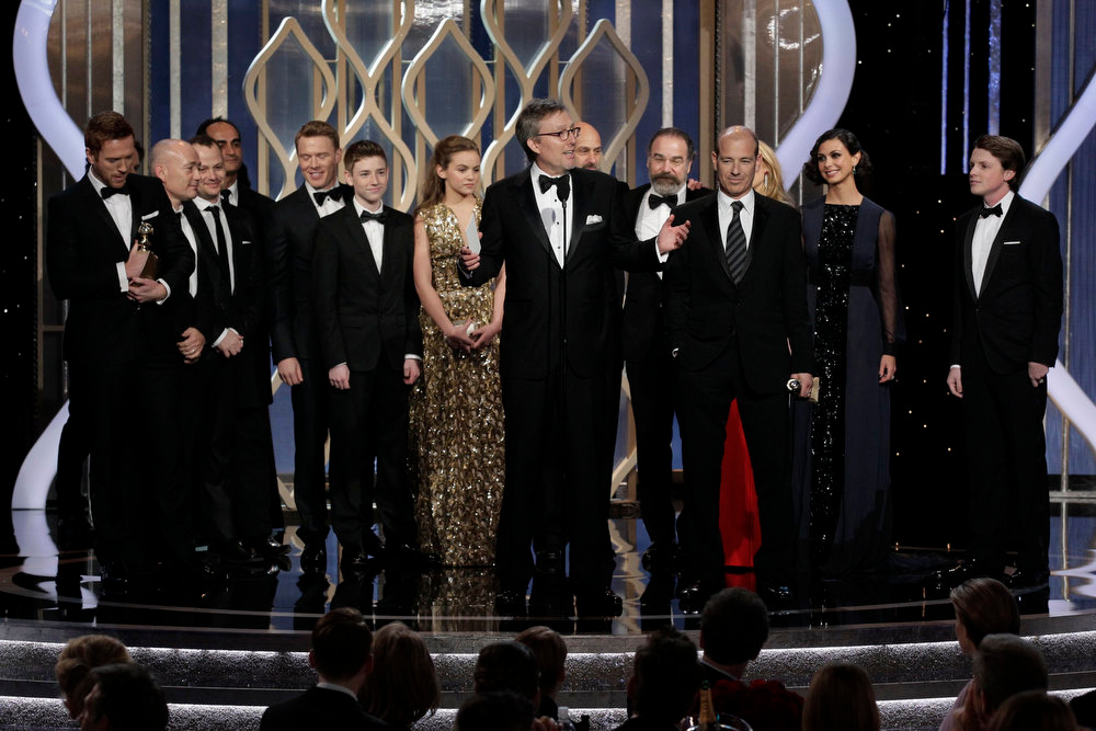 . Best Television Series - Drama: Homeland