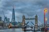 Tower Bridge Raised at Twilight - London