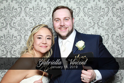 Gabriella & Vincent's Wedding - 1/18/19