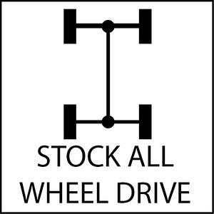 Stock All Wheel Drive Cars
