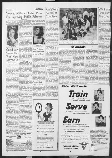 Daily Trojan, Vol. 45, No. 114, April 20, 1954