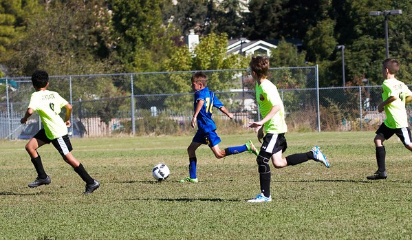 Porter Plays Soccer