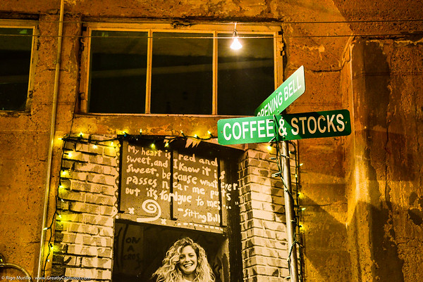 Blues, Love, and Trouble at Opening Bell Coffee