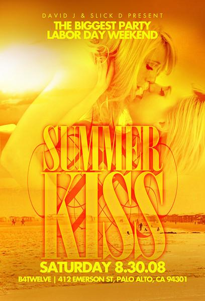 David J & Slick D Present Summer Kiss @ B4Twelve 8.30.08