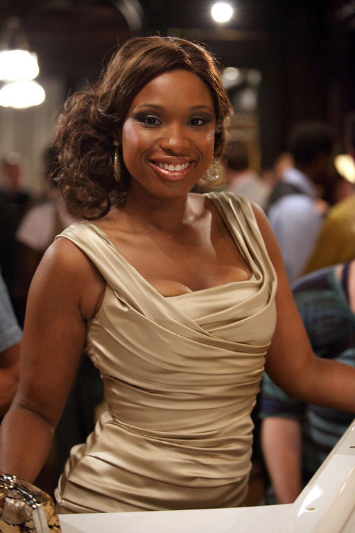 ". SMASH -- ""On Broadway\"" Episode 201 -- Pictured: Jennifer Hudson as Veroica Moore -- (Photo by: Eric Liebowitz/NBC)"