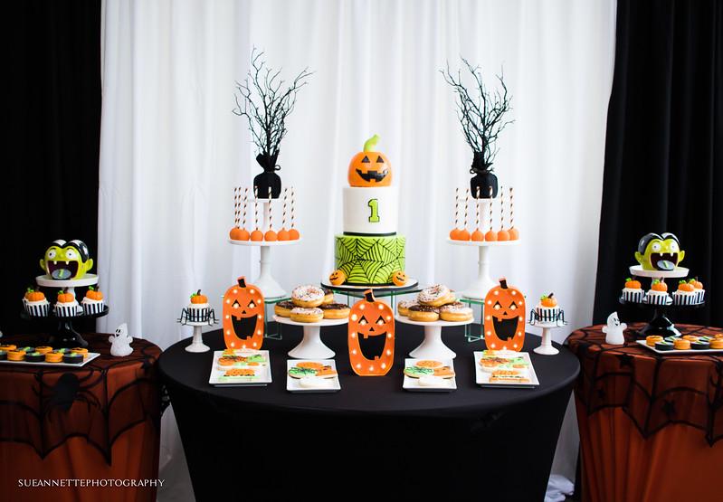 Halloween First Birthday