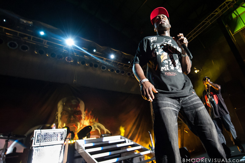 50 Cent and Tony Yayo perform at Jannus Live in St. Petersburg, Florida on June 16, 2010.