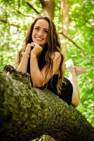 Molly senior  pics