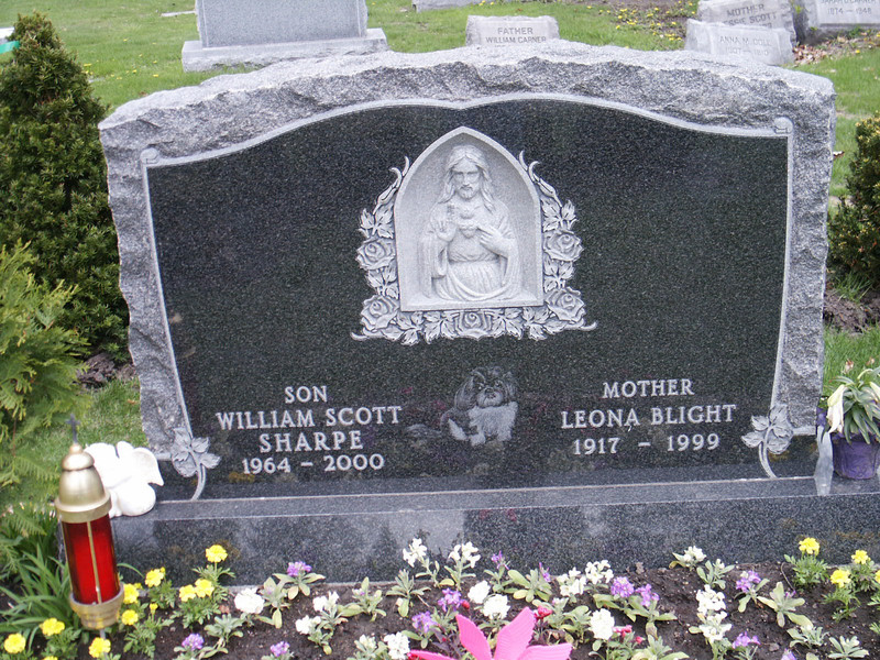 William Scott Sharpe & Leona Blight
