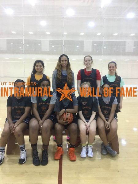 Spring 2018 Basketball Women's Runner Up Pippen Aint Easy