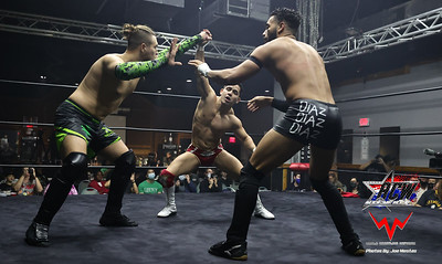 Special Challenge Triple Threat Match
