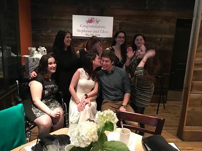 March 2018 - Chris Hartle -Stephanie Lock Bridal Shower
