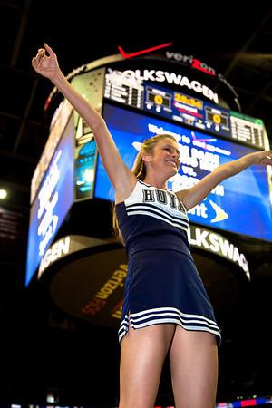 Georgetown Hoyas vs Notre Dame basketball (2-27-10)