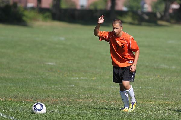 2012 NNHS JV Soccer vs. Cohassett, Hingham, and Arlington