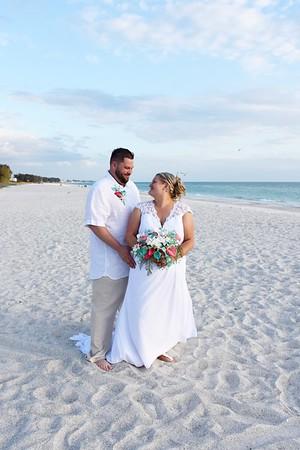 Beautiful destination wedding at Anna Maria Island