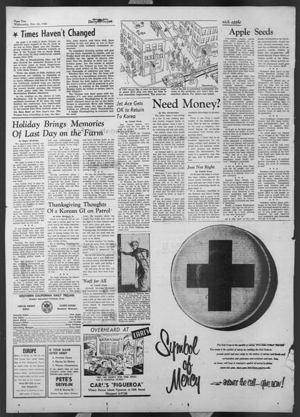 Daily Trojan, Vol. 44, No. 52, November 26, 1952