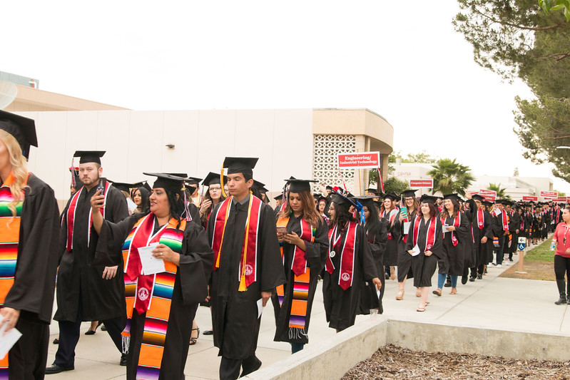 Bakersfield College Commencement 2017 - May 12, 2017
