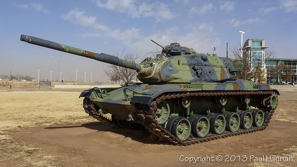 TXANG Armory - Lubbock, TX - M60A3