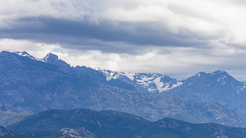 L'arrière pays de Calvi (Balagne - Haute Corse)