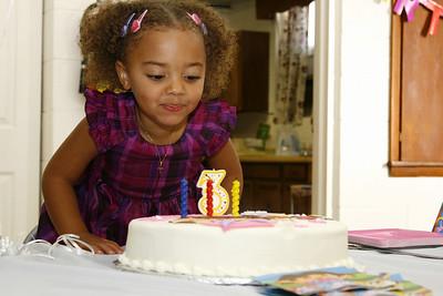 2010 November 13 - Braelyn's Third Birthday