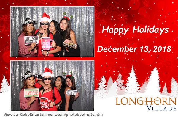 20181213 Longhorn Village Party