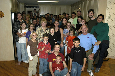 Sanford/Hall Thanksgiving 2008