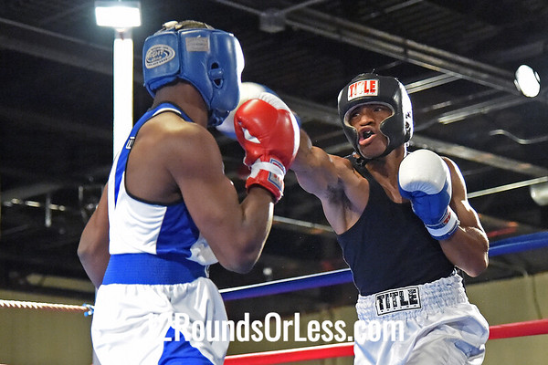 Bout #8  Martrell Adams, Top Notch BC, Cleveland, OH  vs Chandler Clements, DNA Level C BC, Cleveland, OH  141 Lbs.