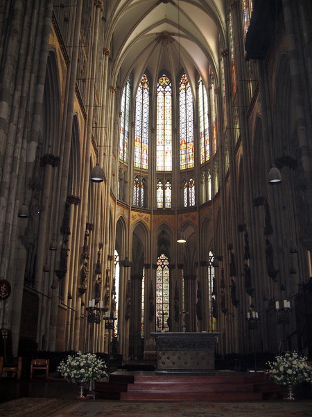 Inside Dom (Cologne Cathedral)