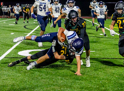 Set ten: Fourth quarter, Vashon Island High School Football v Sultan 09/06/2019