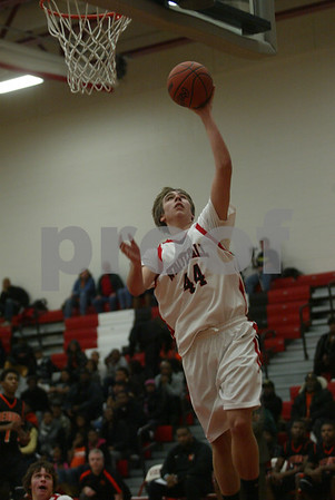 Whitehall / Muskegon Heights boys basketball 01 03 2012