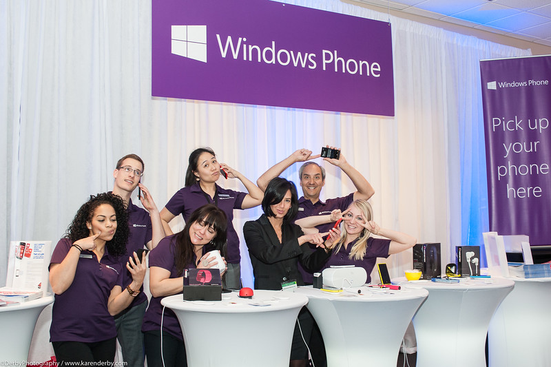 Tech Support ready to help you with your new Windows Phone at Microsoft's CIO Summit.