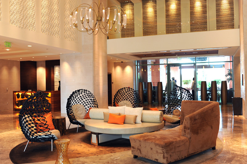 5:30PM Arrived at resort. This is the hotel lobby.